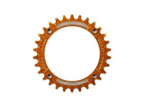 HOPE Narrow Wide Chainring 104 BCD in Orange