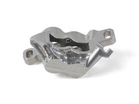 HOPE E4 Caliper Body Silver