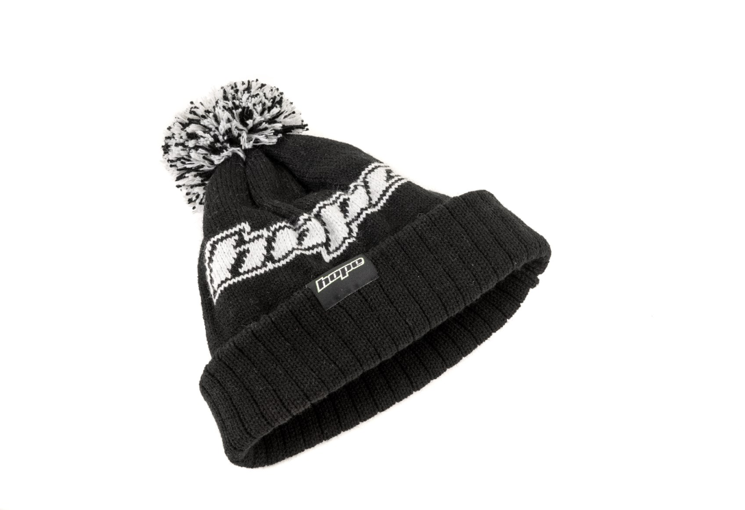 9450870828a9a HOPE Bobble Hat in Black    £25.00    Clothing    Caps   Hats ...