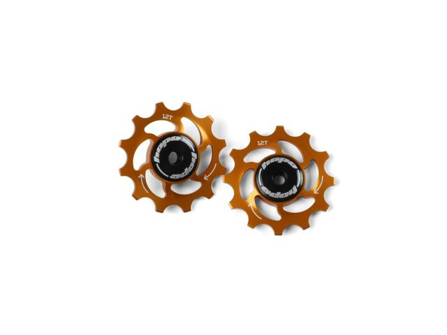 HOPE 12T Jockey Wheels Orange click to zoom image