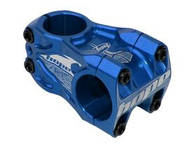HOPE DH Stem 50mm Long 0 deg rise 31.8 dia Blue