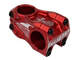 HOPE DH Stem 50mm Long 0 deg rise 31.8 dia Red