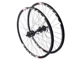 "RUSH 26"" QR Mountain bike wheelset shimano black rims"